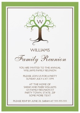 Family Reunion Tree Template Images Pictures Becuo