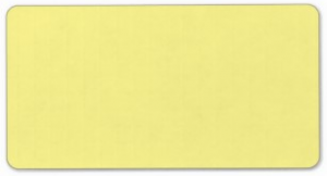Plain light yellow solid background blank FFF892 Labels