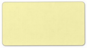 Plain pale yellow solid background blank Custom Address Labels