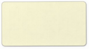 Plain very pale yellow solid background blank address label