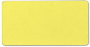 Plain yellow solid background blank FFF66D Personalized Address Label