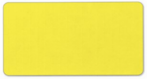 Plain yellow solid background blank Personalized Address Labels